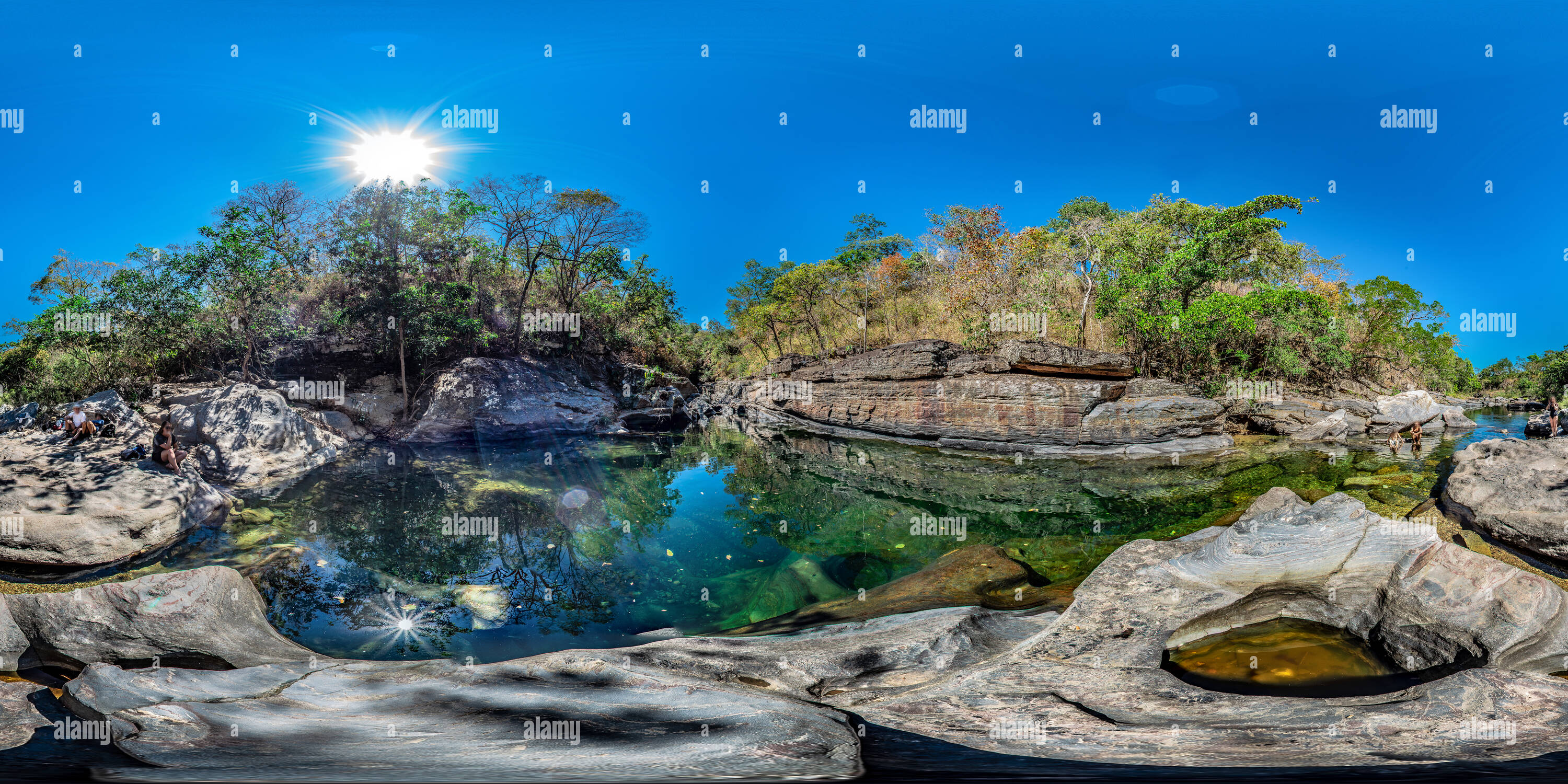 Parc National Chapada dos Veadeiros Photo Stock