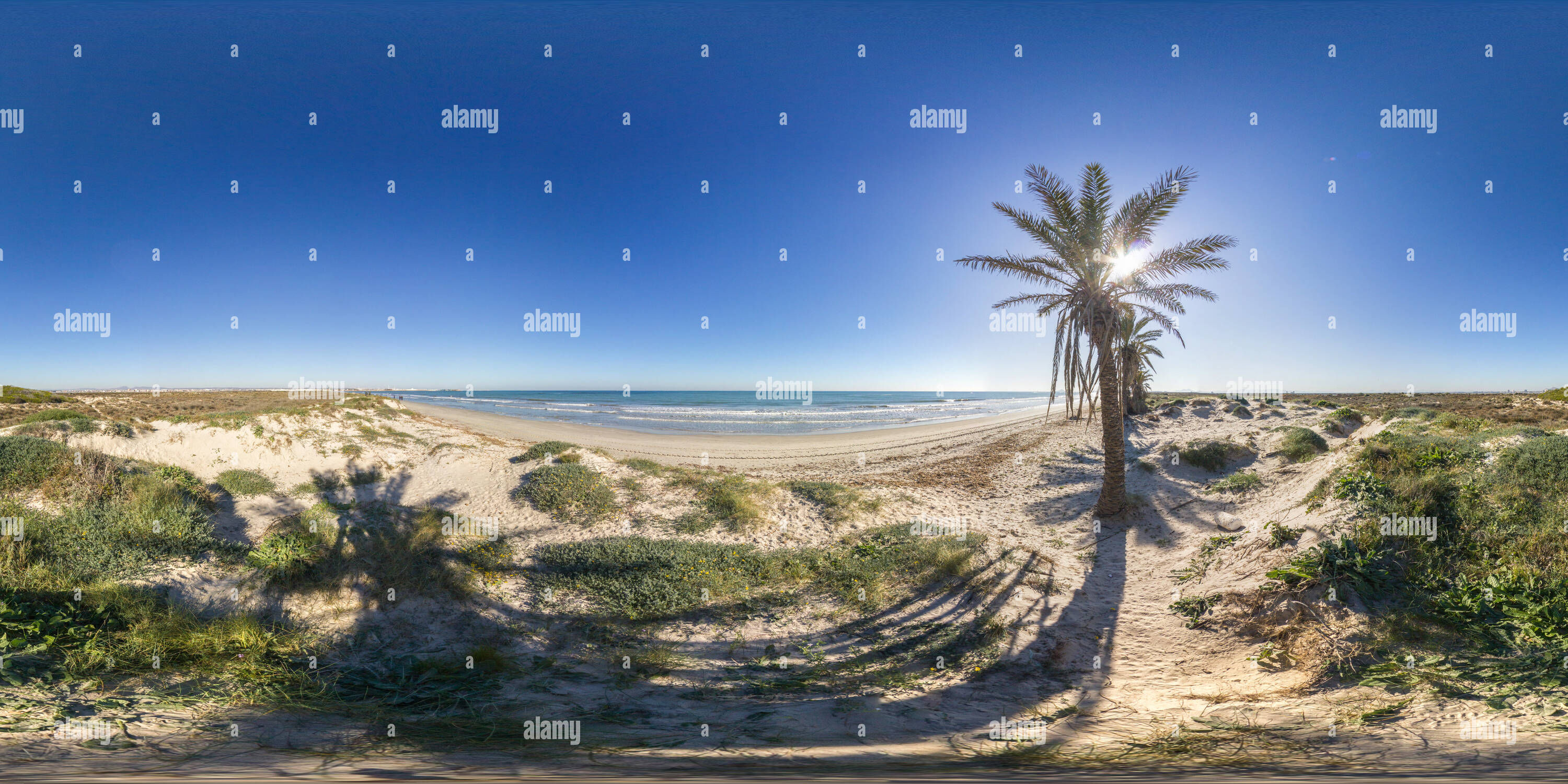 Playa De La Llana Photo Stock