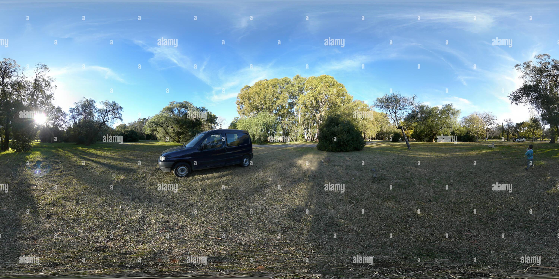 Parque Caba comme 360villes Photo Stock