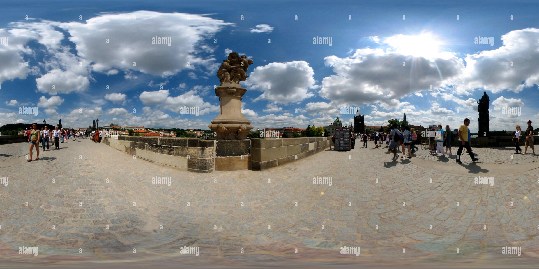 Le Pont Charles, Prague Photo Stock