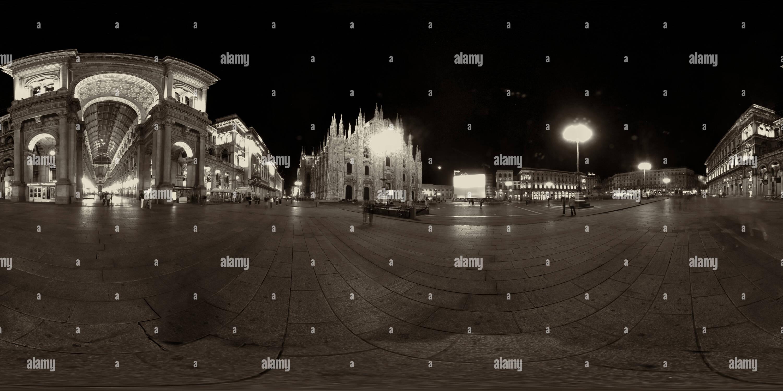 Milano Piazza del Duomo Photo Stock