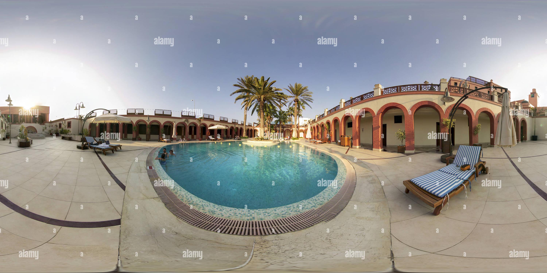 Piscine de l'hôtel à Tripoli, 2009 Photo Stock