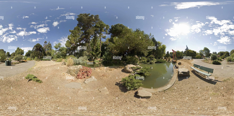 Lake Merritt Jardin Koi Photo Stock