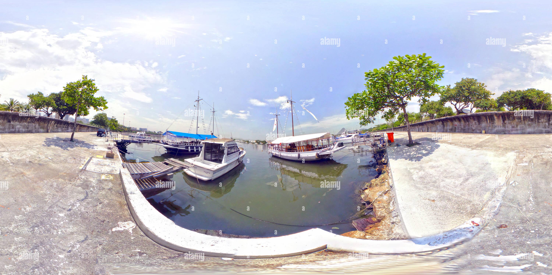 Marina da Gloria de Rio de Janeiro, Brasil Photo Stock