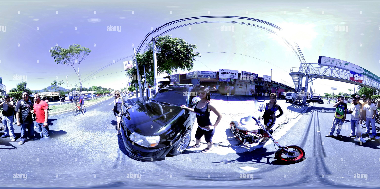 MiniMoto ShowCar Photo Stock