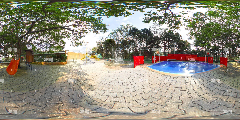 Colégio Miguel de Cervantes Parque Infantil n 02 Photo Stock