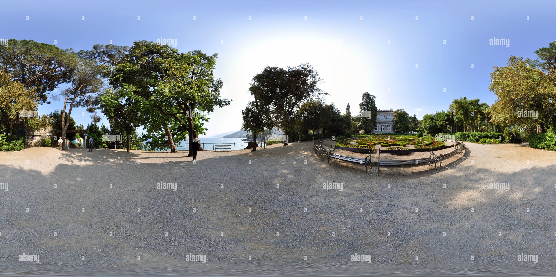 Opatija, Villa et park Angiolina Photo Stock