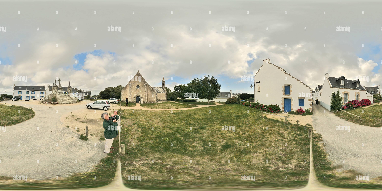 Calvaire Chapelle Ile Saint Cado Morbihan 2820 Photo Stock