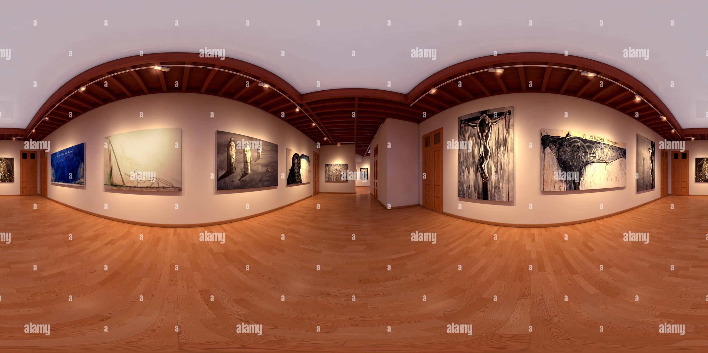 Exposition d'art Photo Stock