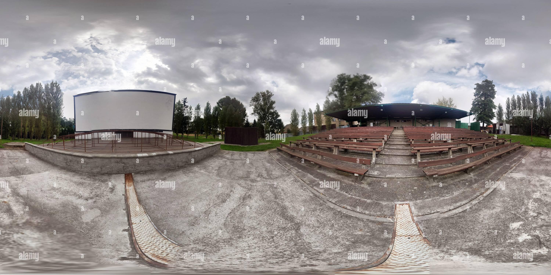 Letní kino Hulín Photo Stock