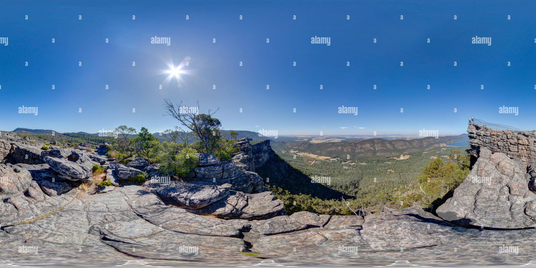 L'Apogée, le Parc National des Grampians Photo Stock