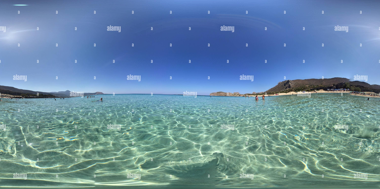 FALASSARNA - ORANGE BLU Photo Stock