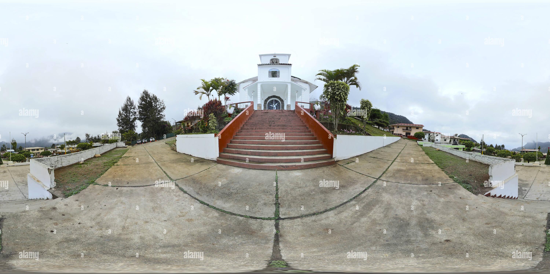 Lieu de l'Palambla, Canchaque, Piura, Pérou Photo Stock