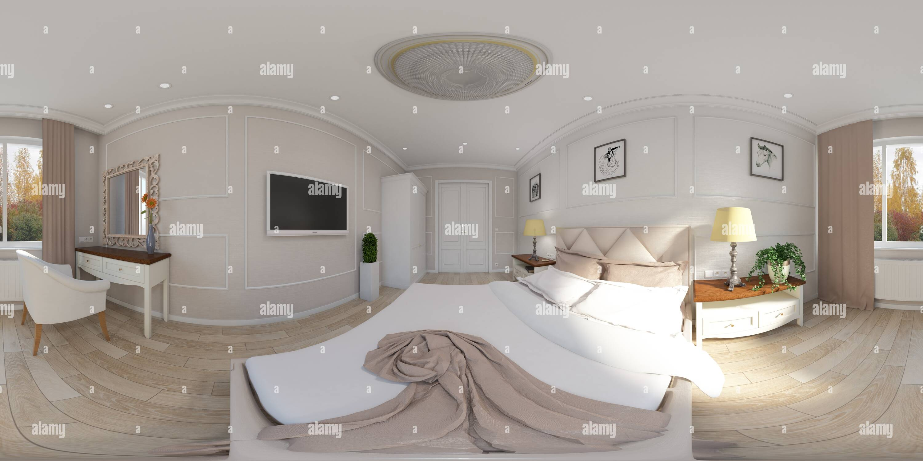 Chambres Photo Stock