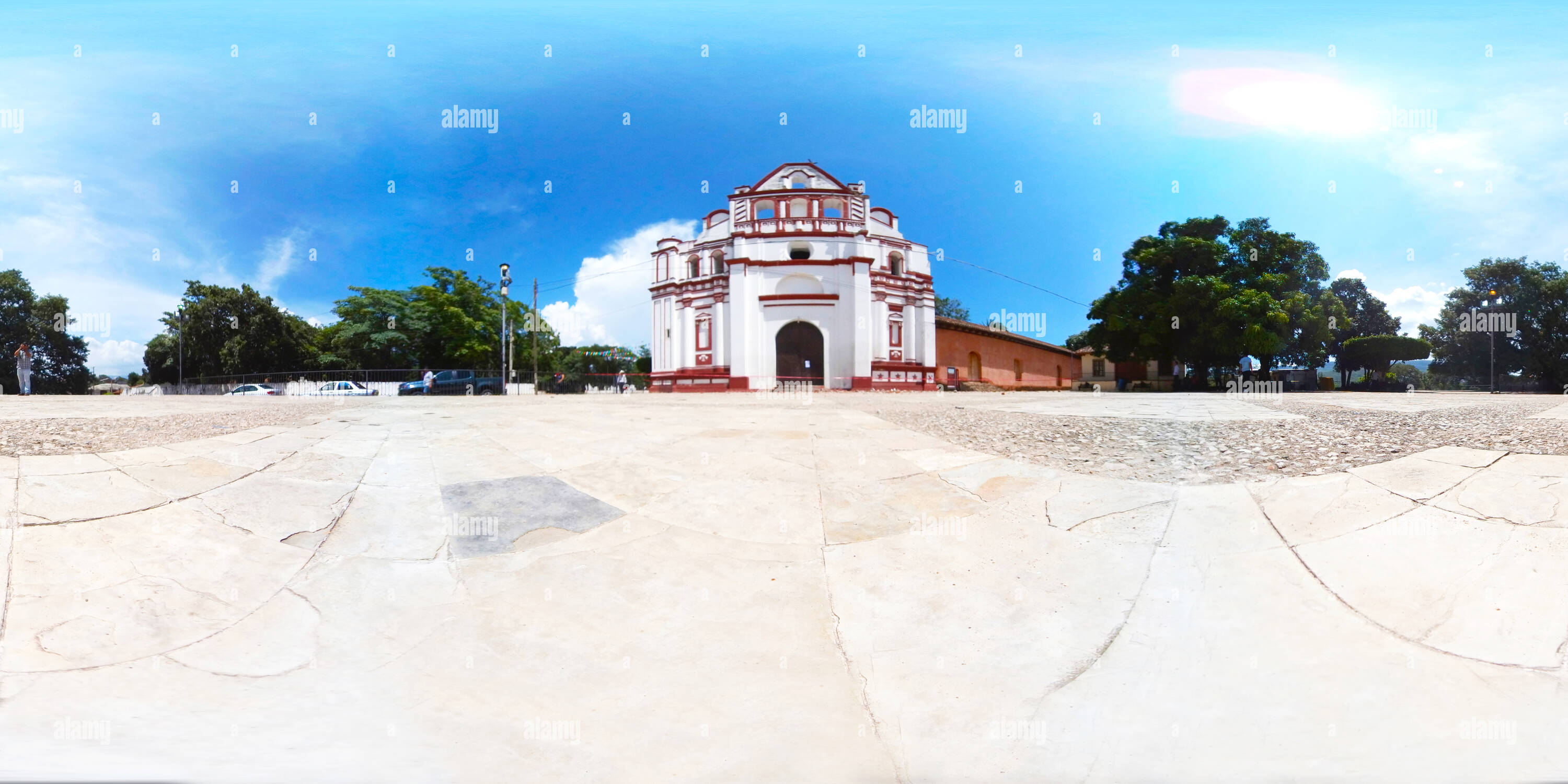 Couvent de Santo Domingo à Chiapa de Corzo, Chiapas Photo Stock