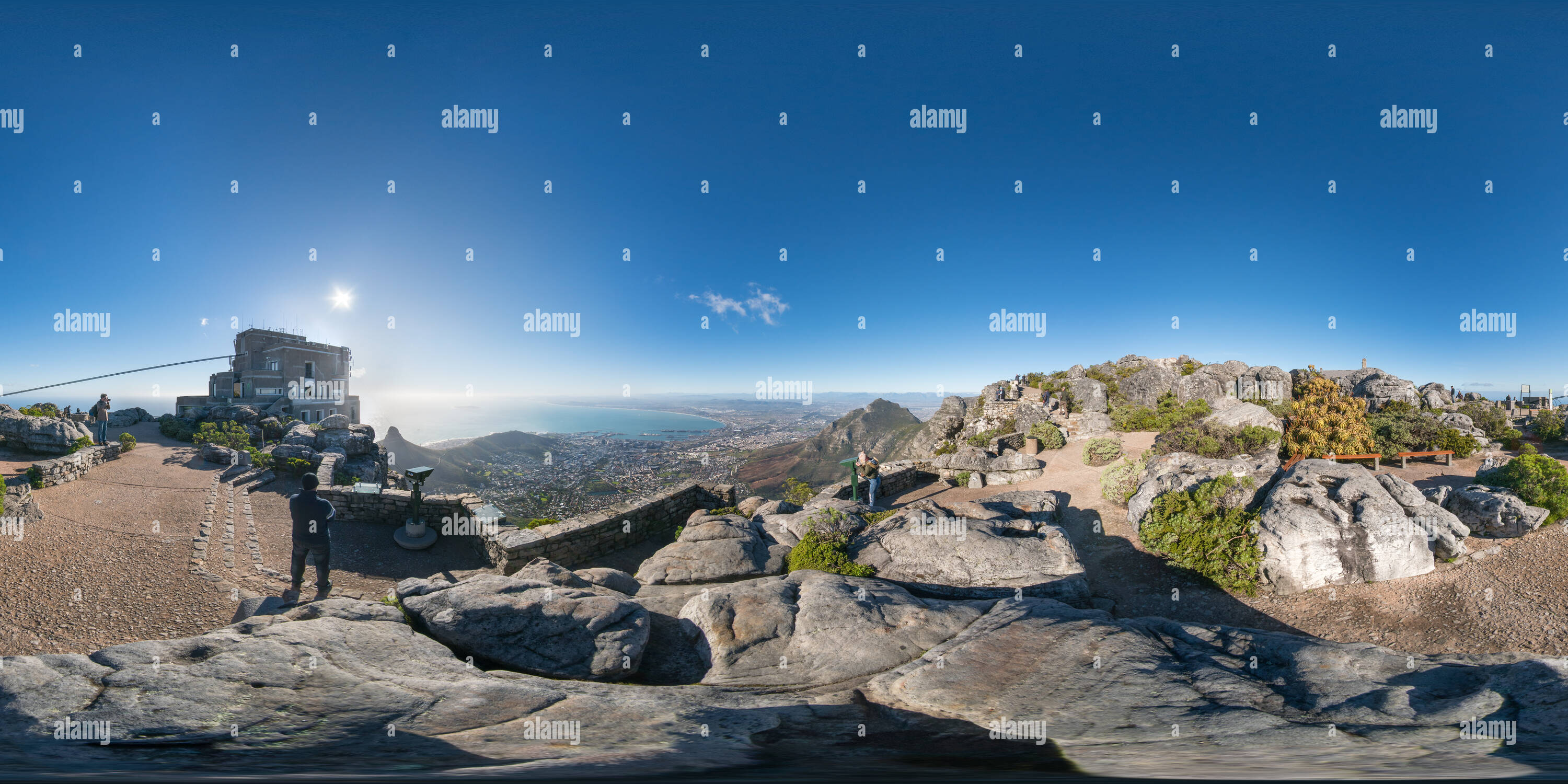 Montagne de la table Photo Stock