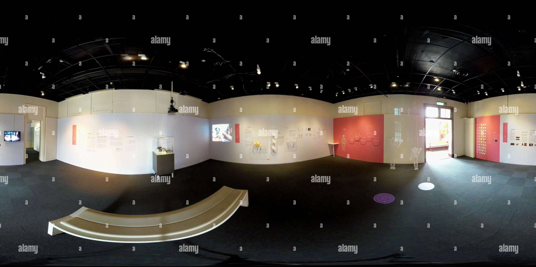 """'Hard + Pi = Bonheur"""" Exposition à NCKU Museum (partie 1) Photo Stock"""