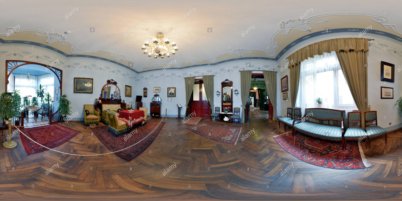 L'Art Nouveau de Riga Centre 3 Photo Stock