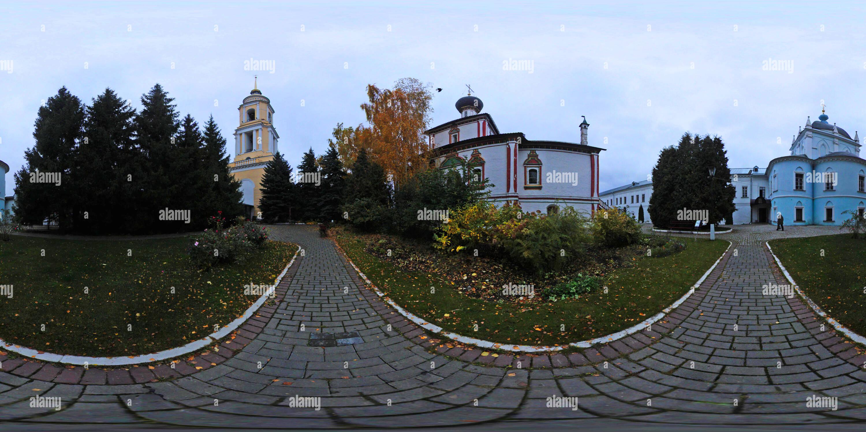 Novogolutvinsky monastère de femmes. Kolomna, région de Moscou. Photo Stock