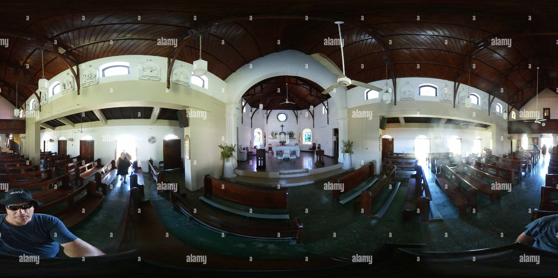 Notre Dame du Perpétuel Secours - Eglise St Anne's Parrish, la Jamaïque 1 Photo Stock