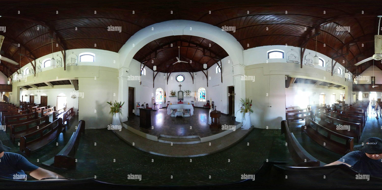 Notre Dame du Perpétuel Secours - Eglise St Anne's Parrish, la Jamaïque 2 Photo Stock
