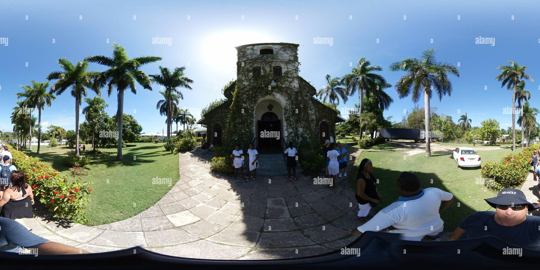Notre Dame du Perpétuel Secours - Eglise St Anne's Parrish, la Jamaïque 4 Photo Stock