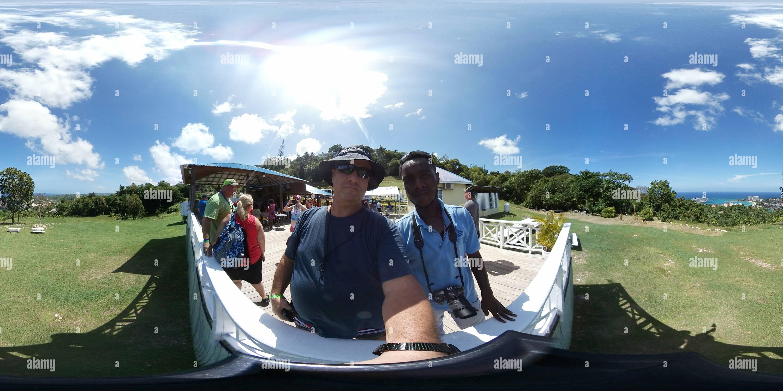 High Point - Ocho Rios, Jamaïque Photo Stock