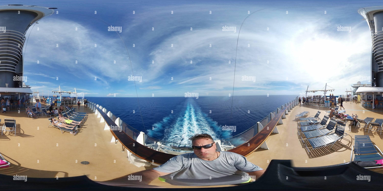 Oasis de la mer à l'arrière Salon - Service Voir Photo Stock