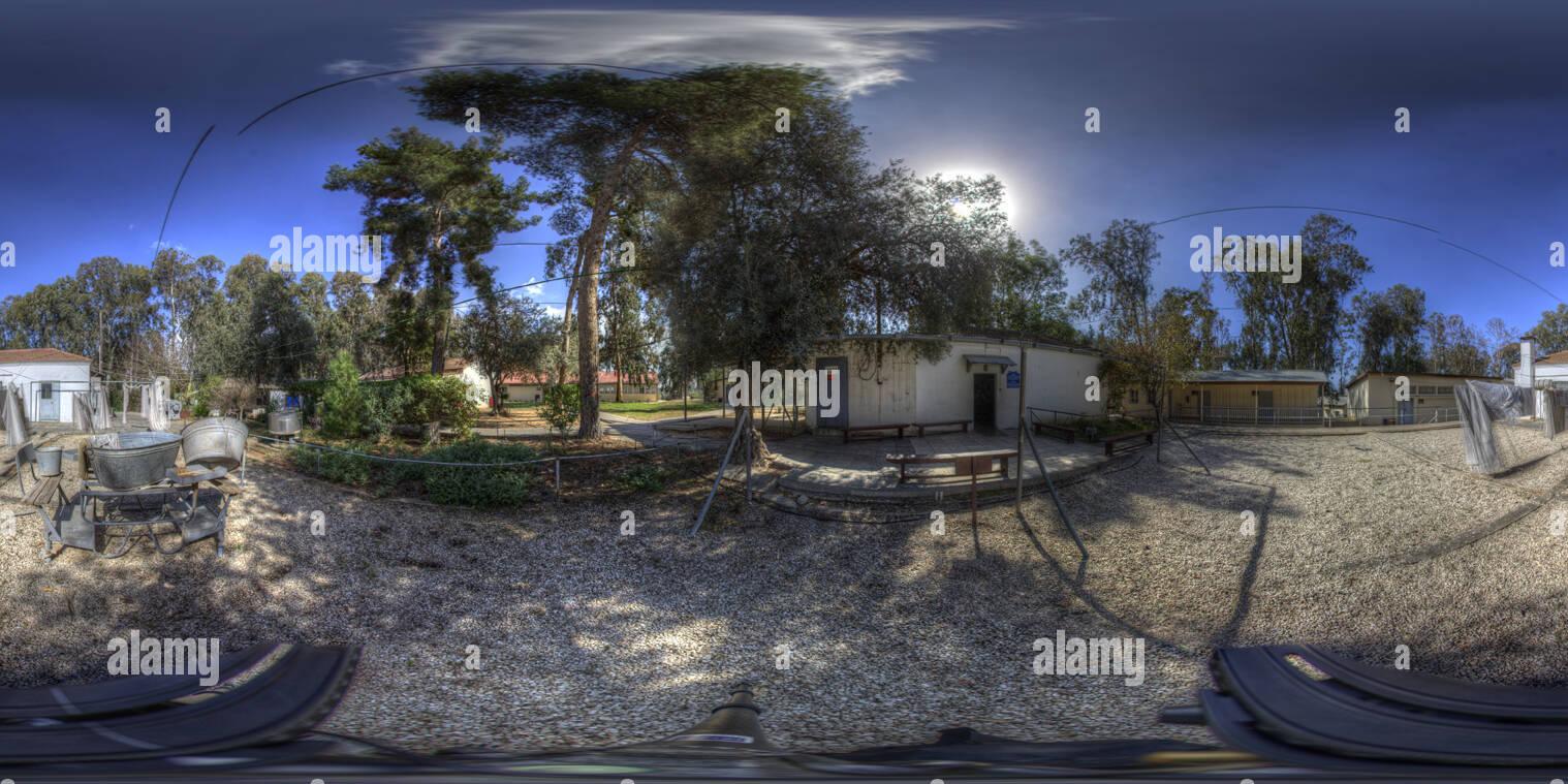 Institut Ayalon Panorama Blanchisserie 72dpi Photo Stock