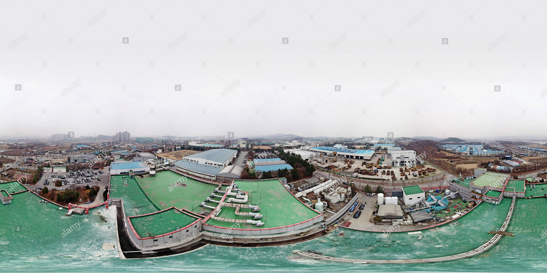 천안휴넷플러스공장 분할공사 명가엔지니어링-(주)2019.03 Photo Stock