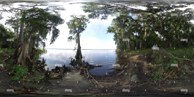 Lac Jesup, Floride Photo Stock