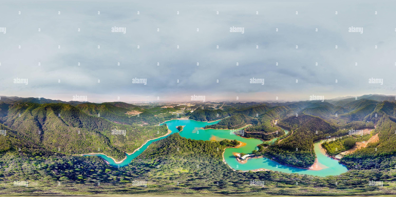 Lac de grues Photo Stock