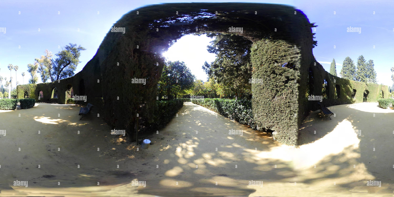 Jardin du labyrinthe Photo Stock