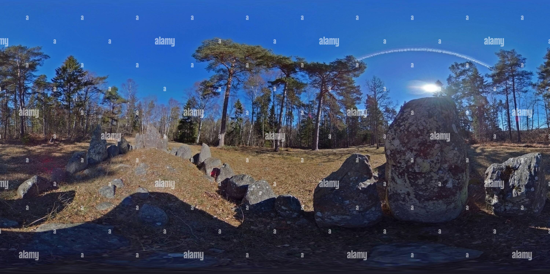 Rannarve paramètre pierre Photo Stock