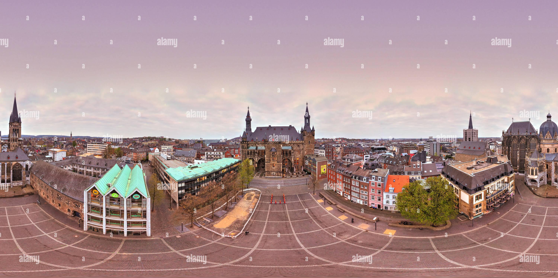 Aachen-Pano2 Photo Stock