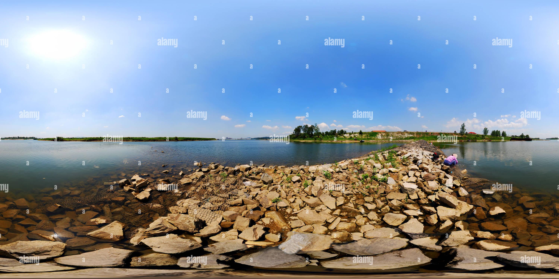 -套里 鸭绿江畔 Photo Stock