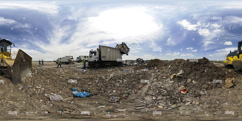 Dépôt des déchets régionaux Photo Stock