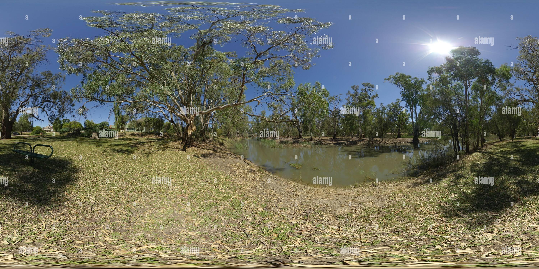 Billabong Creek et de la Rivière-du-Prince-Édouard Photo Stock