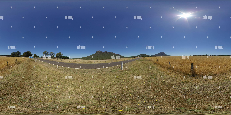 Mont Sturgeon et brusque de montage Photo Stock