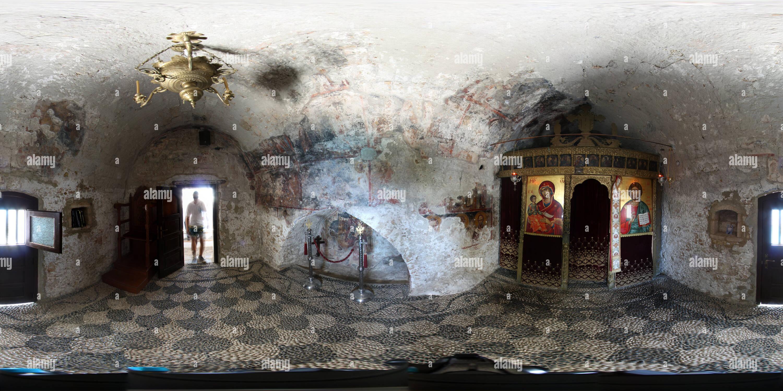 Monastère Tsambika 01 Photo Stock