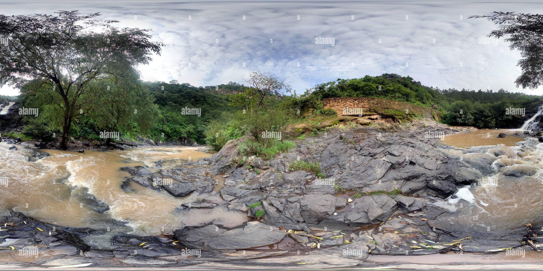 Cascada en Morelia Photo Stock