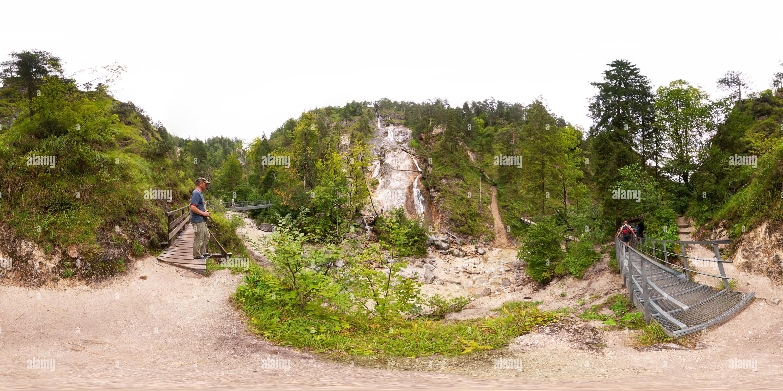 Sulzer Wasserfall Photo Stock