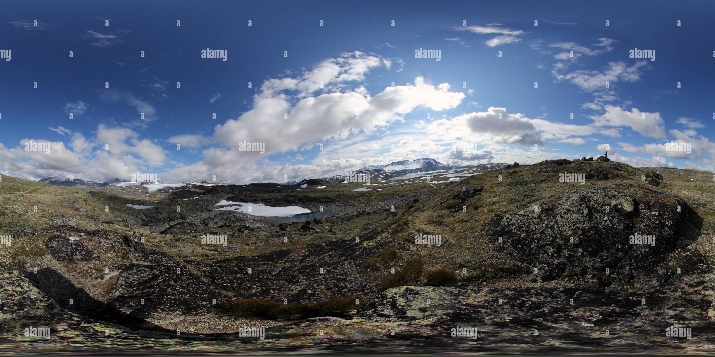 1 Panorama près de Turtagro 2011 Photo Stock