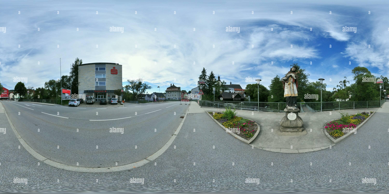 Regen - Effigie de Johannes de Prag Photo Stock