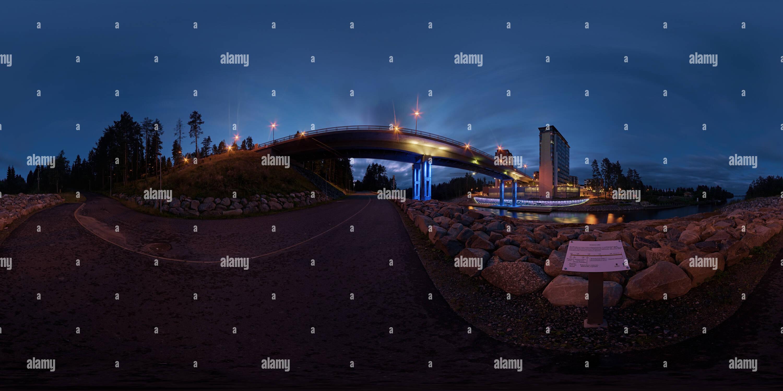 Saaristokaupunki, Kuopio Photo Stock