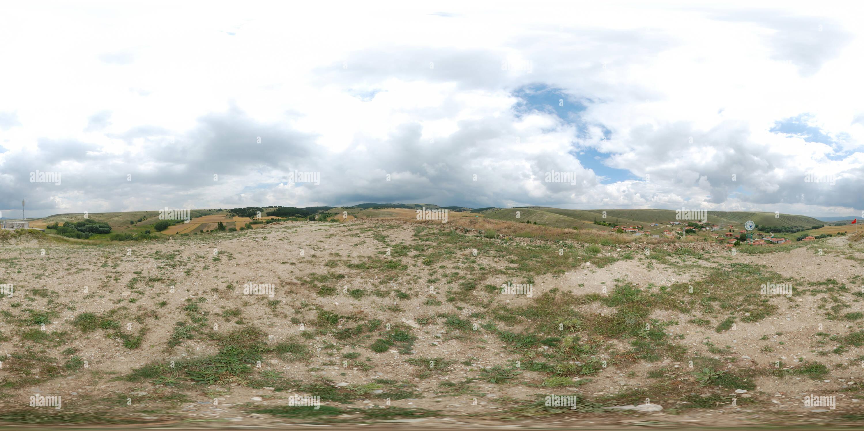 Üyük Köyü Tepeden Görünüm Photo Stock