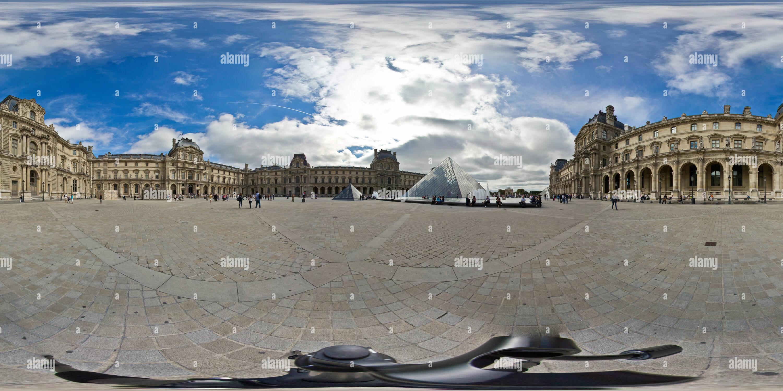 Musée du Louvre Photo Stock