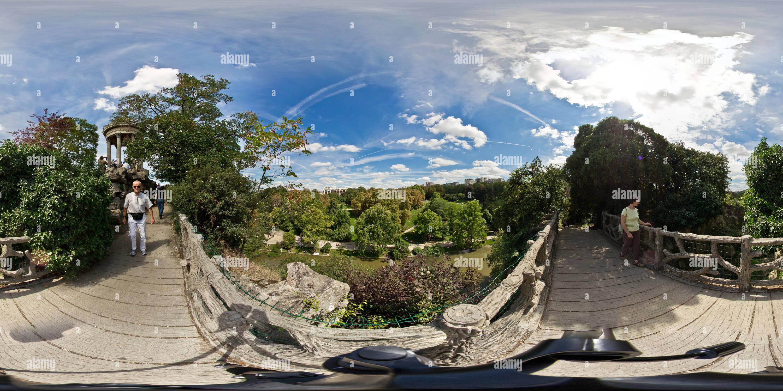 Parc des Buttes-Chaumont Photo Stock