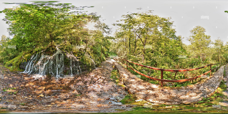 Vodopad Lađevac Photo Stock
