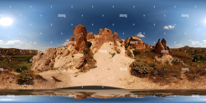 La vallée de Devrent, petites cheminées de fées Photo Stock
